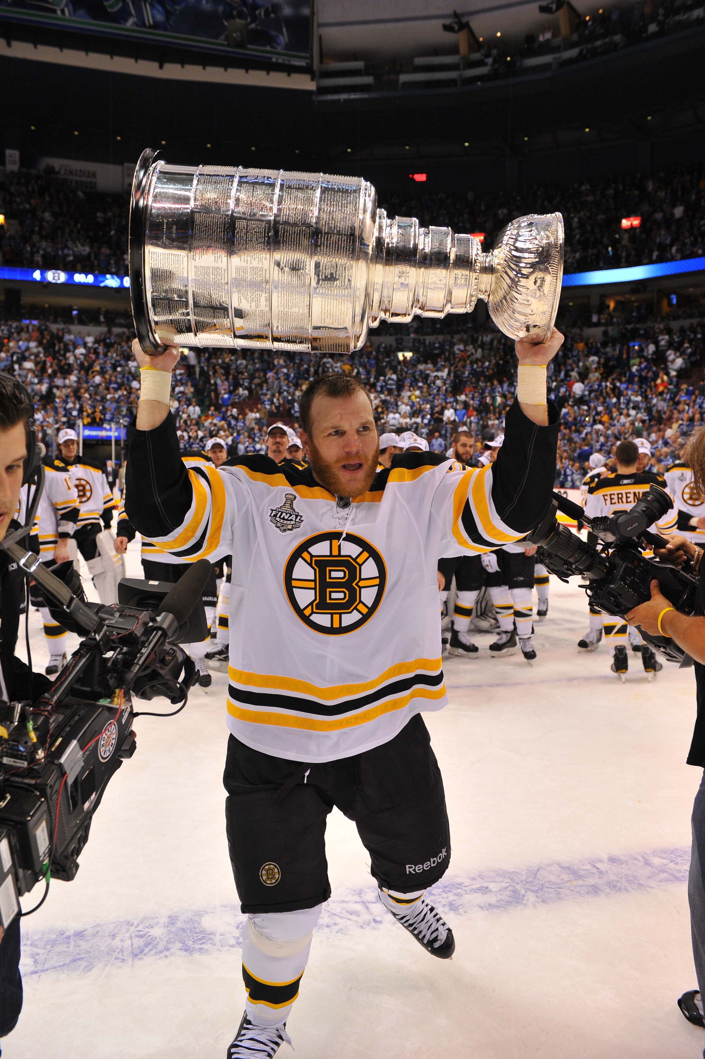 shawn thornton and the stanley cup